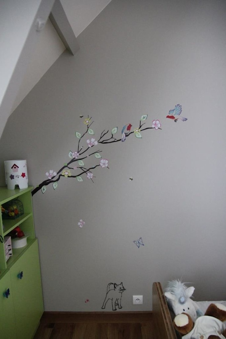 Décoration murale: Chambre d'enfants de style  par Noémie Vernet