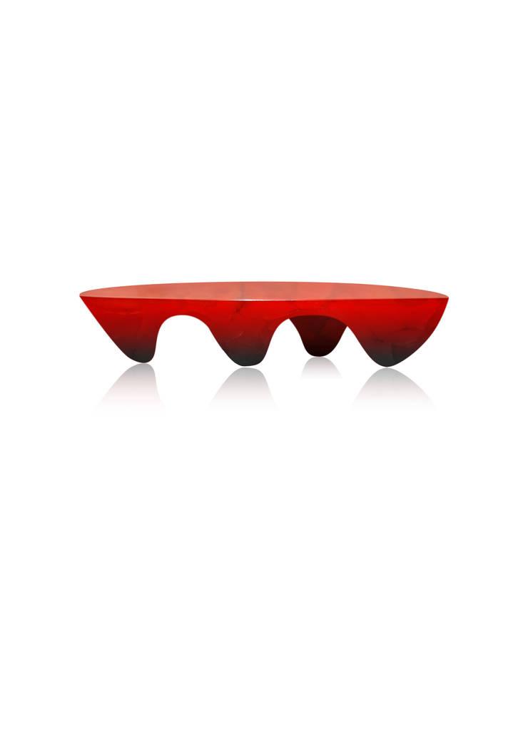 coffee tables 001: styl , w kategorii Salon zaprojektowany przez mwdesign