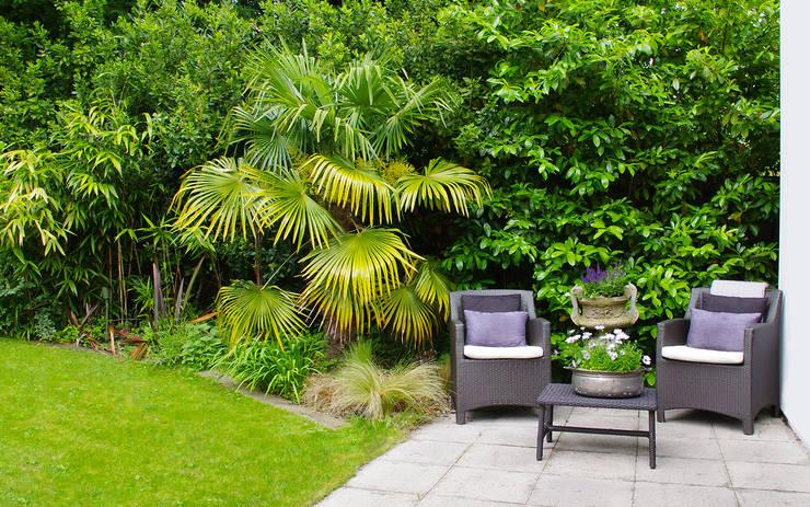 Exterior Terrace:  Garden by LLI Design