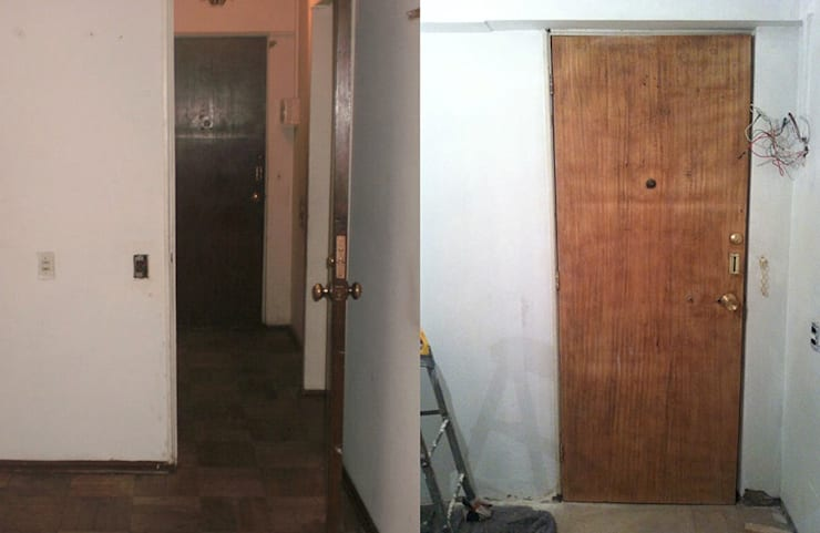 La entrada del apartamento:  de estilo  de Estar Design