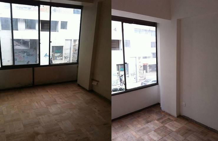 El suelo ya pulido:  de estilo  de Estar Design