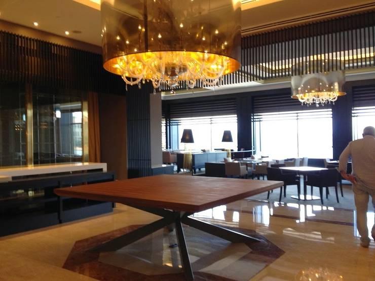 AS AYDINLATMA – Chef table:  tarz Yemek Odası