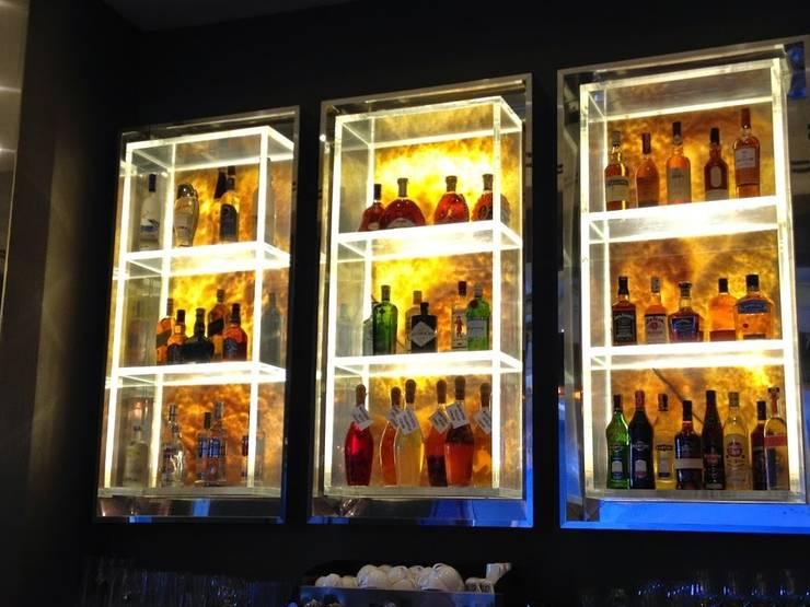 AS AYDINLATMA – Paslanmaz şaraplık Dolabının imalatı:  tarz