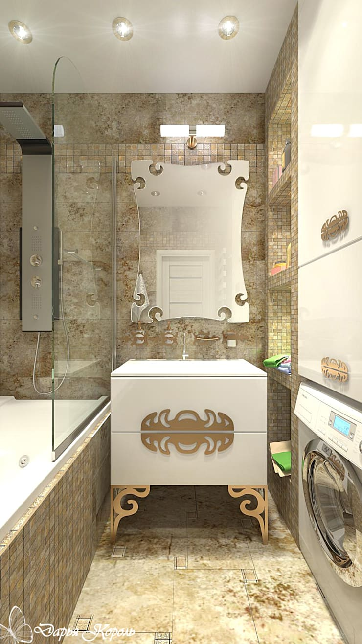 Bathroom by Your royal design, Eclectic