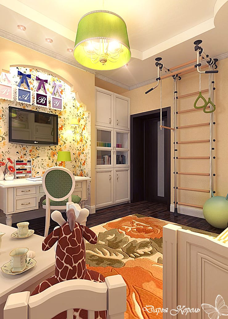 children's room for girls: Детские комнаты в . Автор – Your royal design