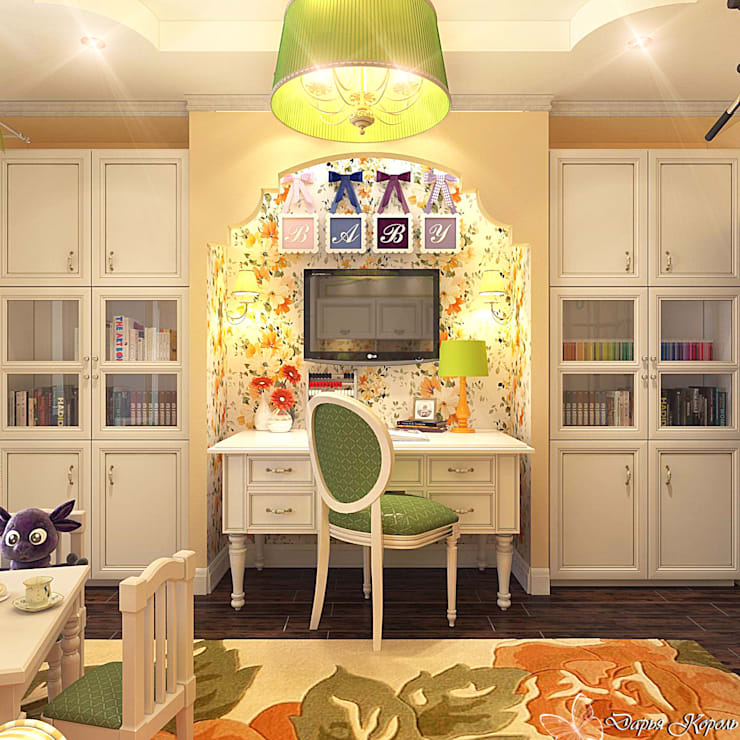 children's room for girls: Детские комнаты в . Автор – Your royal design