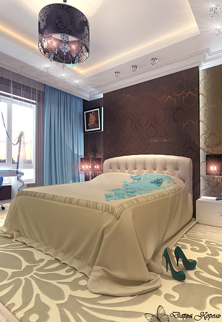 Chambre originale par Your royal design Éclectique