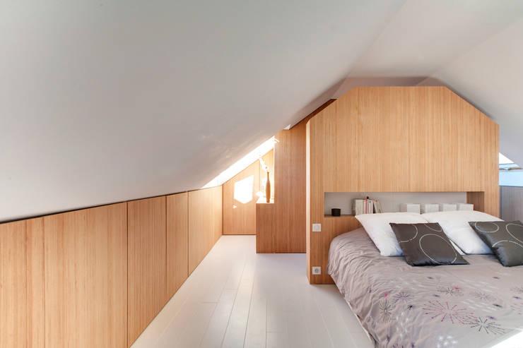 Andrea Mosca: minimal tarz tarz Yatak Odası