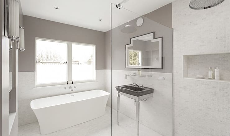 Bathroom by Stagg Architects