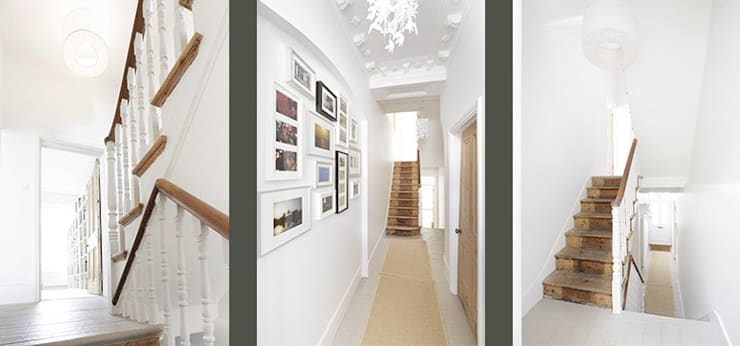 Huddleston Road:  Corridor & hallway by Stagg Architects