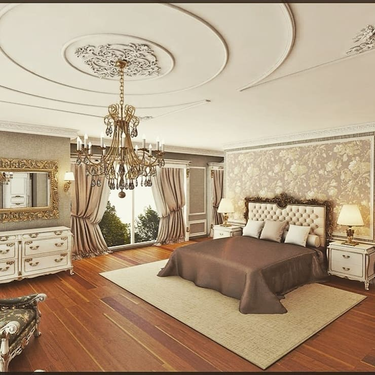 غرفة نوم تنفيذ Nuevo Tasarım