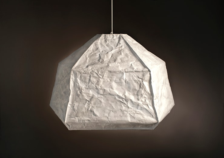 lampa Big Mama ICEBERG: styl , w kategorii Salon zaprojektowany przez Natural Born Design