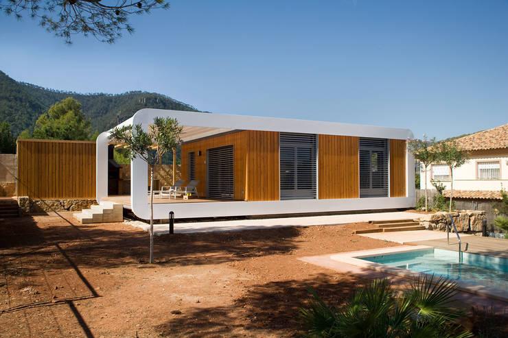 Projekty,  Domy zaprojektowane przez NOEM