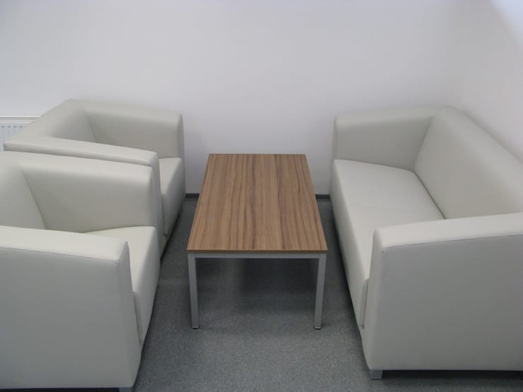 Miejsce do rozmów: styl , w kategorii Przestrzenie biurowe i magazynowe zaprojektowany przez Akson Meble Biurowe