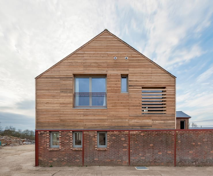 Gable end:  Houses by Whitaker Studio