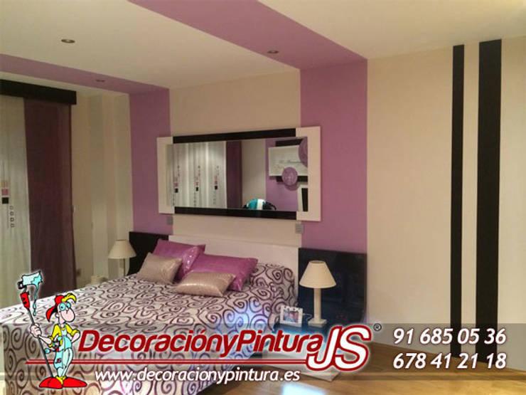 Decoración y Pintura JS: Dormitorios de estilo  de Decoración y Pintura Profesional JS