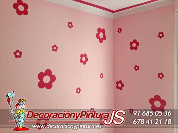 Decoración y Pintura JS: Habitaciones infantiles de estilo  de Decoración y Pintura Profesional JS