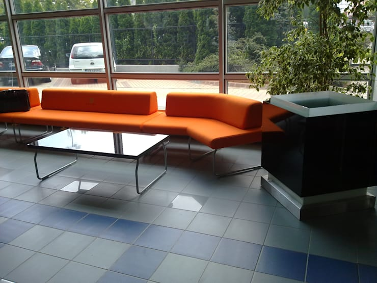 Pomieszczenie recepcyjne: styl , w kategorii Pomieszczenia biurowe i magazynowe zaprojektowany przez Akson Meble Biurowe
