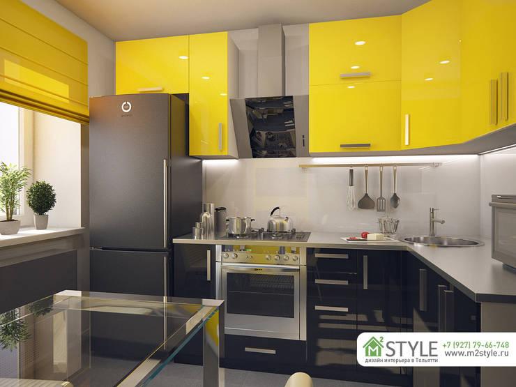 Квартира «Арт-хаус»: Кухни в . Автор – Студия m2style