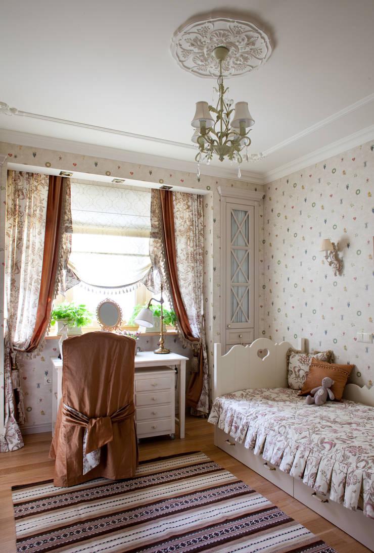 Жилая классика: Детские комнаты в . Автор – VVDesign