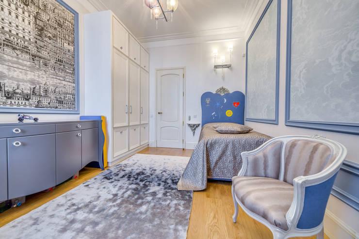 Квартира в жилом комплексе <q>Парадный квартал</q>: Детские комнаты в . Автор – Be In Art