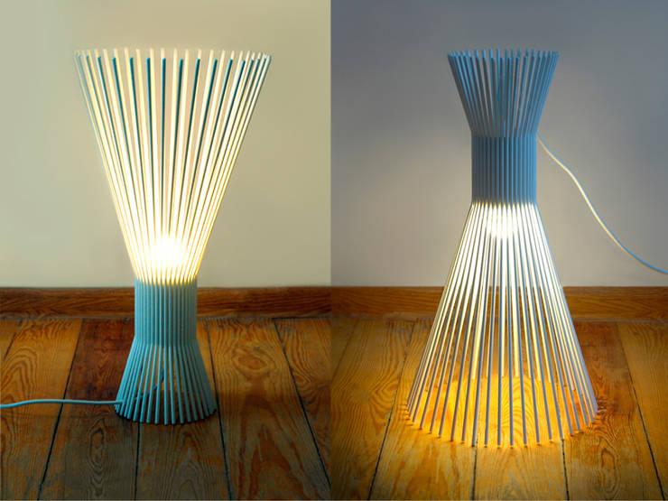 Solejka: styl , w kategorii Salon zaprojektowany przez Natural Born Design