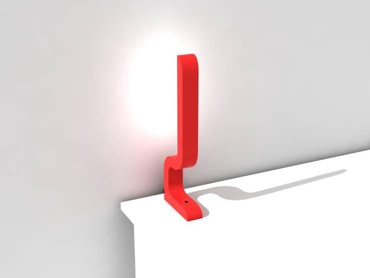 Baya - lampe à poser: Maison de style  par Maxime Tabeau
