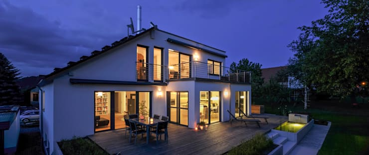 Projekty,   zaprojektowane przez KitzlingerHaus GmbH & Co. KG