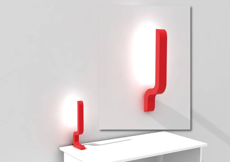 Baya - lampe à poser et applique murale: Maison de style  par Maxime Tabeau