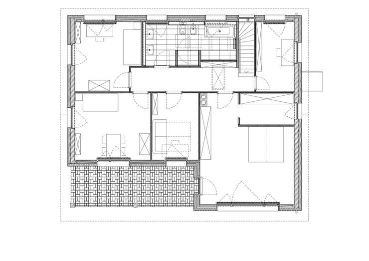 Studio Becher: Kernsanierung in Wiesbaden, 2014:   von homify