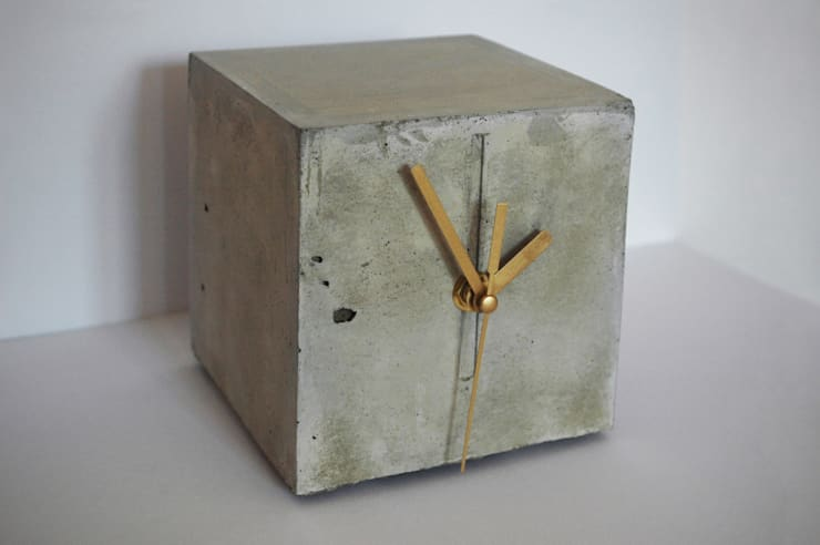 zegar CHRONEK: styl , w kategorii Sypialnia zaprojektowany przez Natural Born Design