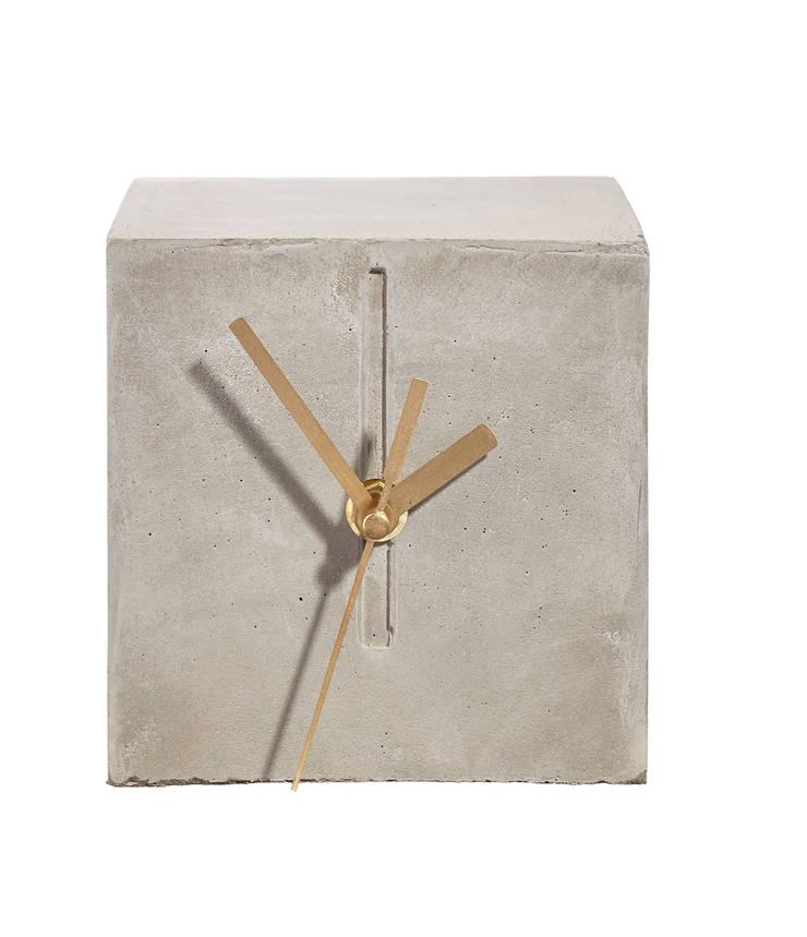 zegar CHRONEK: styl , w kategorii Domowe biuro i gabinet zaprojektowany przez Natural Born Design,