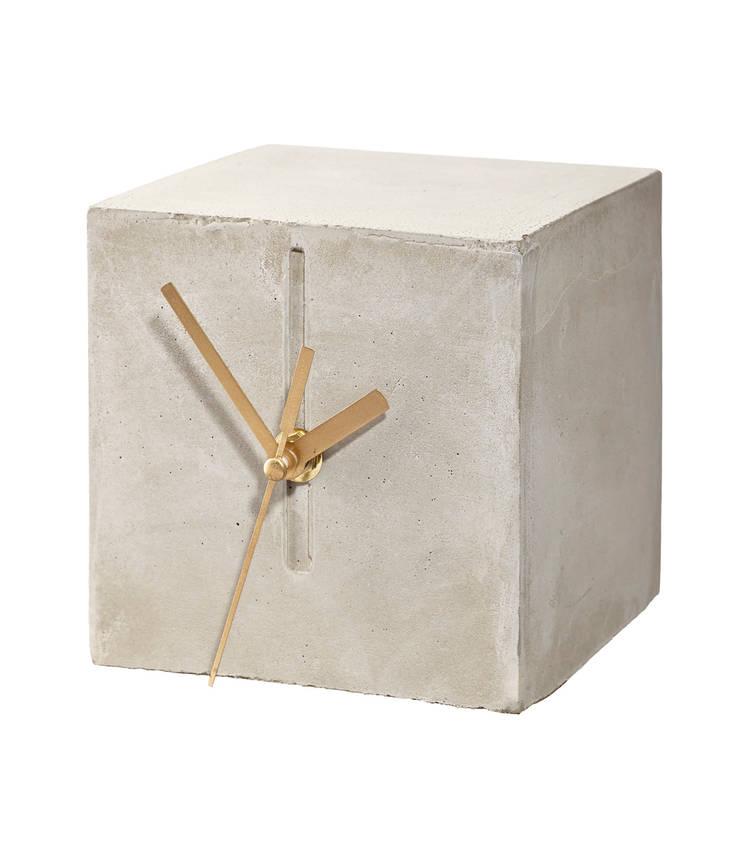 zegar CHRONEK: styl , w kategorii Salon zaprojektowany przez Natural Born Design,