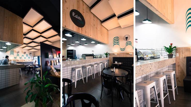EDITH CAFÉ: Banheiros modernos por Mutabile