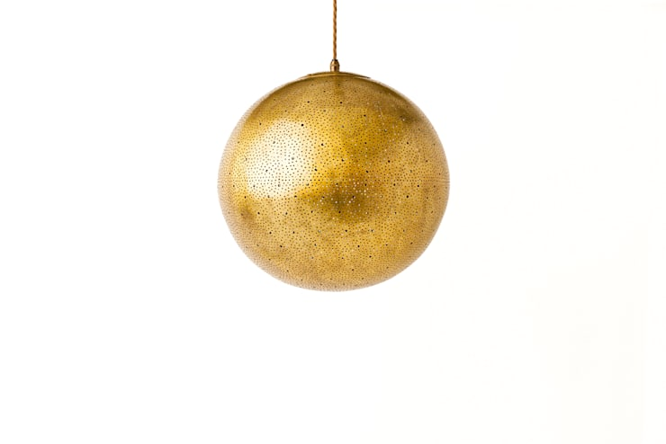 Gina 400 pendant light in raw, RAL colours available:  Household by ..