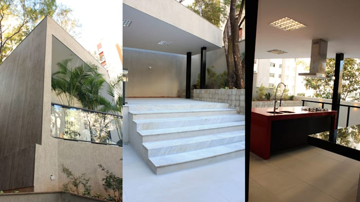 ESPAÇO GOURMET GT: Cozinhas modernas por Mutabile