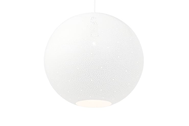 Rita 400 pendant light - white:  Kitchen by ..