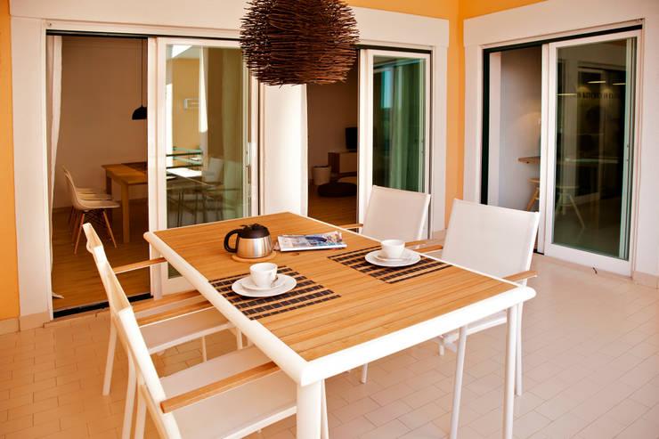 Projekty,  Taras zaprojektowane przez Home Staging Factory