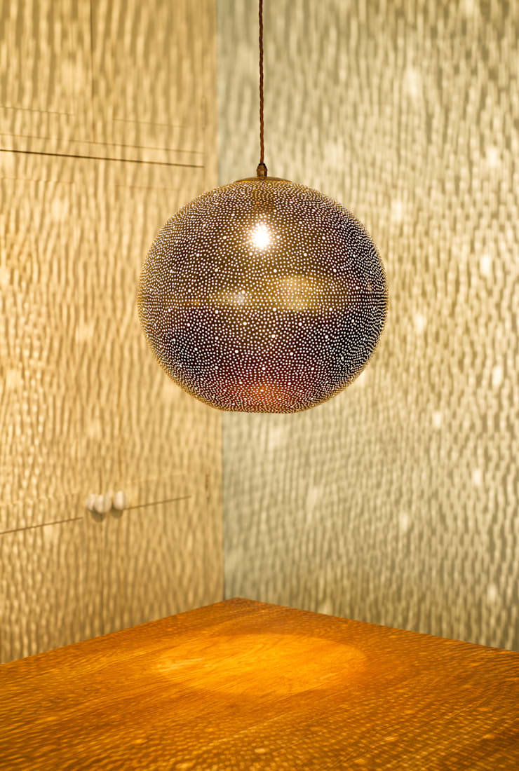 Rita 400 pendant - raw:  Dining room by ..