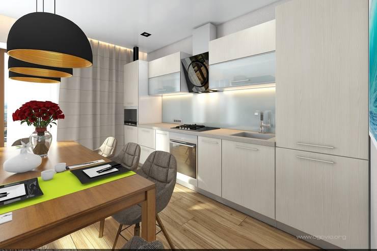 Дом в Краснодаре: Кухни в . Автор – VIO design
