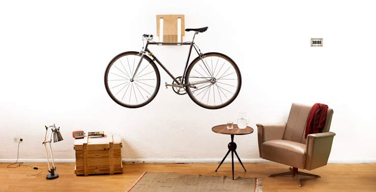 Bike Dock:  Wohnzimmer von .flxble