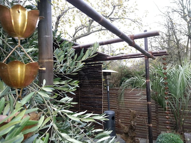 Outside Inside:  Terrace by Uk Bamboo Supplies Ltd