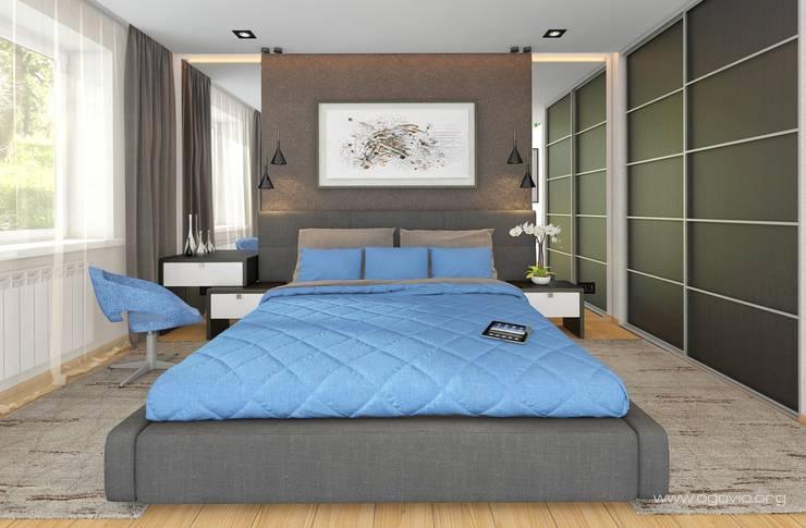 minimalistic Bedroom by VIO design