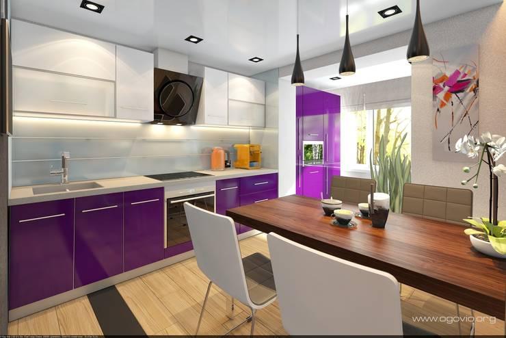 minimalistic Kitchen by VIO design
