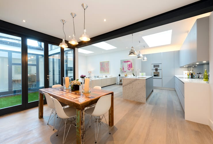 Dining room by BTL Property LTD
