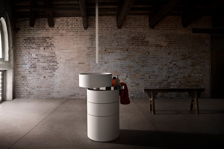 Orbit Sink:  Bathroom by Alessandro Isola Ltd