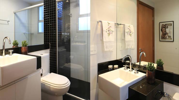 AP IA: Banheiros modernos por Mutabile
