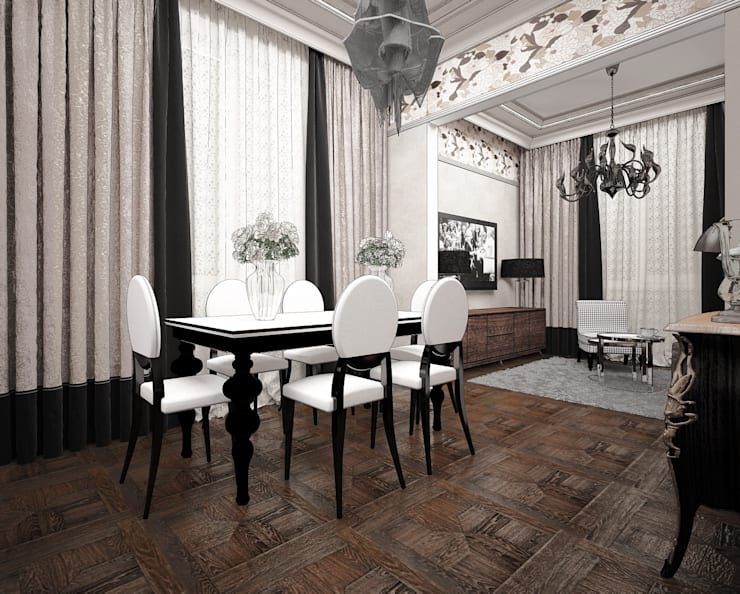 Выход из  лабиринта.: Столовые комнаты в . Автор – Частный дизайнер Оксана Пискарева