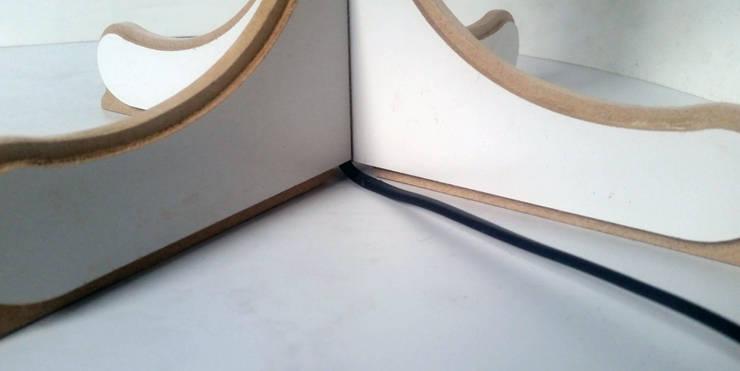 PUK RELATION:  Corridor, hallway & stairs by ANDRE VENTURA DESIGNER
