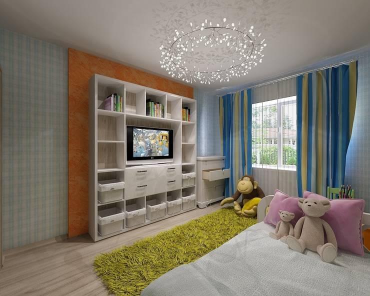 Детская: Детские комнаты в . Автор – Студия дизайна Натали Хованской